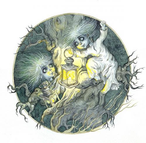 Художница-иллюстратор Марина Михайлошина (8 работ)