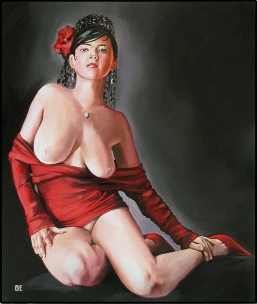 Эротическое искусство Ольги Ермоловой (22 фото)