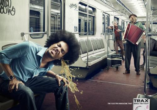 Подборка креативной рекламы ( 15 ) (97 фото)