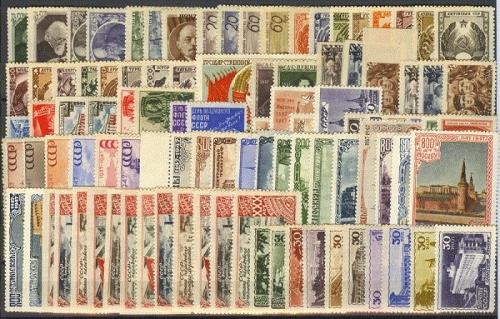 Почтовые марки СССР (446 открыток)