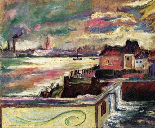Анри-Ашиль-Эмиль-Отон Фриез (Henri-Achille-Emile-Othon Friesz) - французский художник (14 работ)