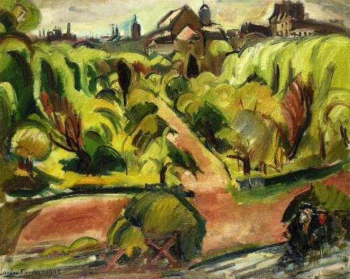 Анри-Ашиль-Эмиль-Отон Фриез (Henri-Achille-Emile-Othon Friesz) - французский художник (14 фото)