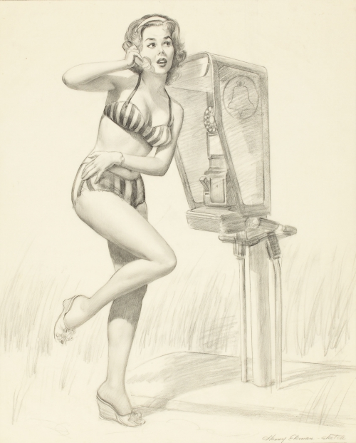 Работы художника-иллюстратора Harry Ekman (36 работ)