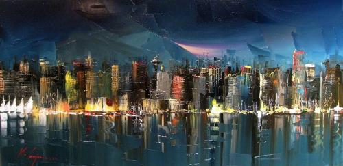 Kal Gajoum - Городской пейзаж (51 работ)