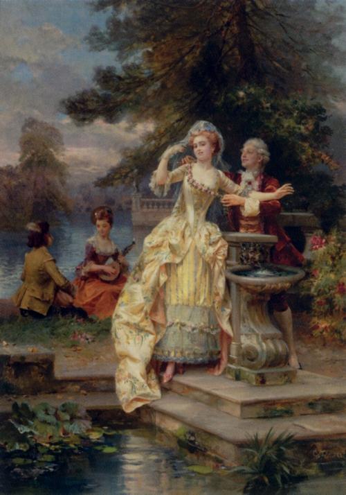 Итальянский художник Cesare Auguste Detti (1847-1914) (69 работ)