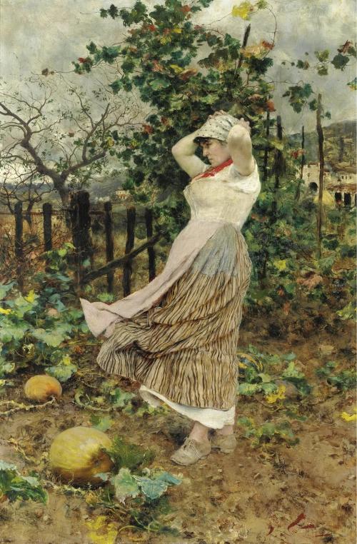 Итальянский художник Francesco Vinea (1845-1902) (43 работ)