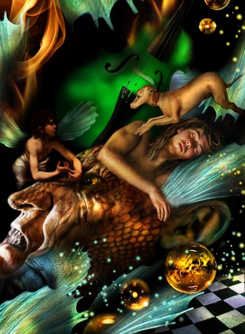 Цифровой арт от Gale Franey (Избранное) (61 работ)