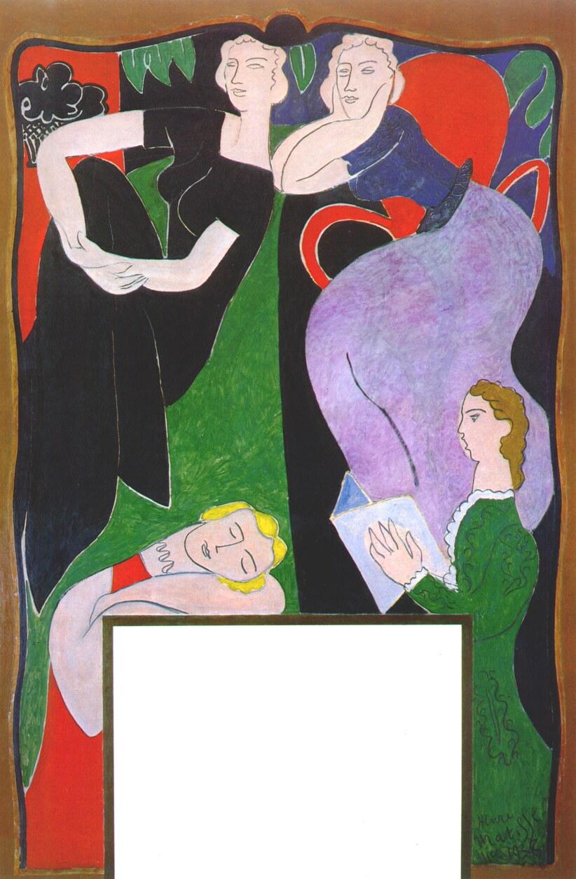 the life and times of henri matisse Photos honoring the life of henri matisse from odalisque au fauteuil noir and deux fillettes fond gris, fenetre bleue.