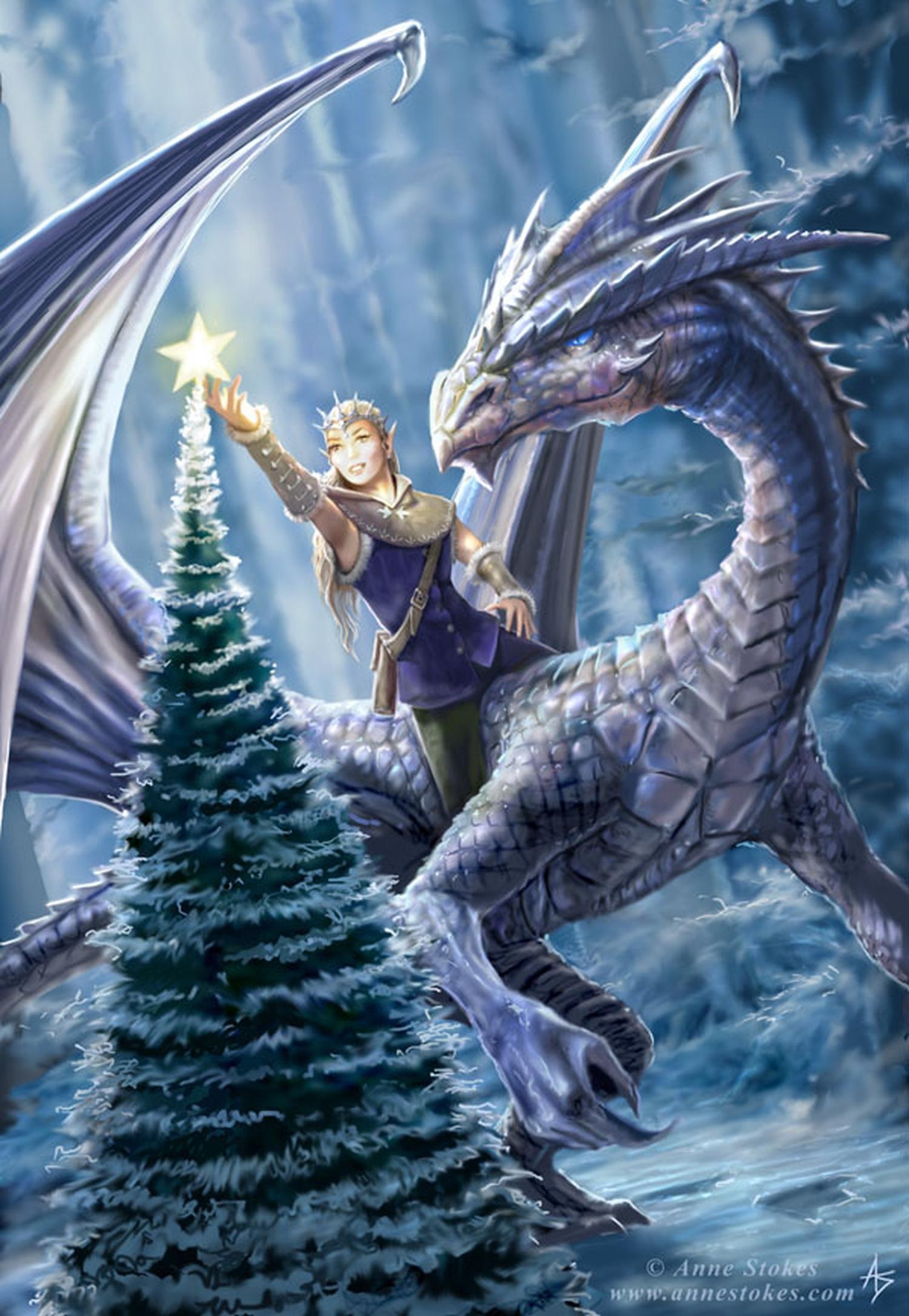Фото с эльфами и драконами 12 фотография