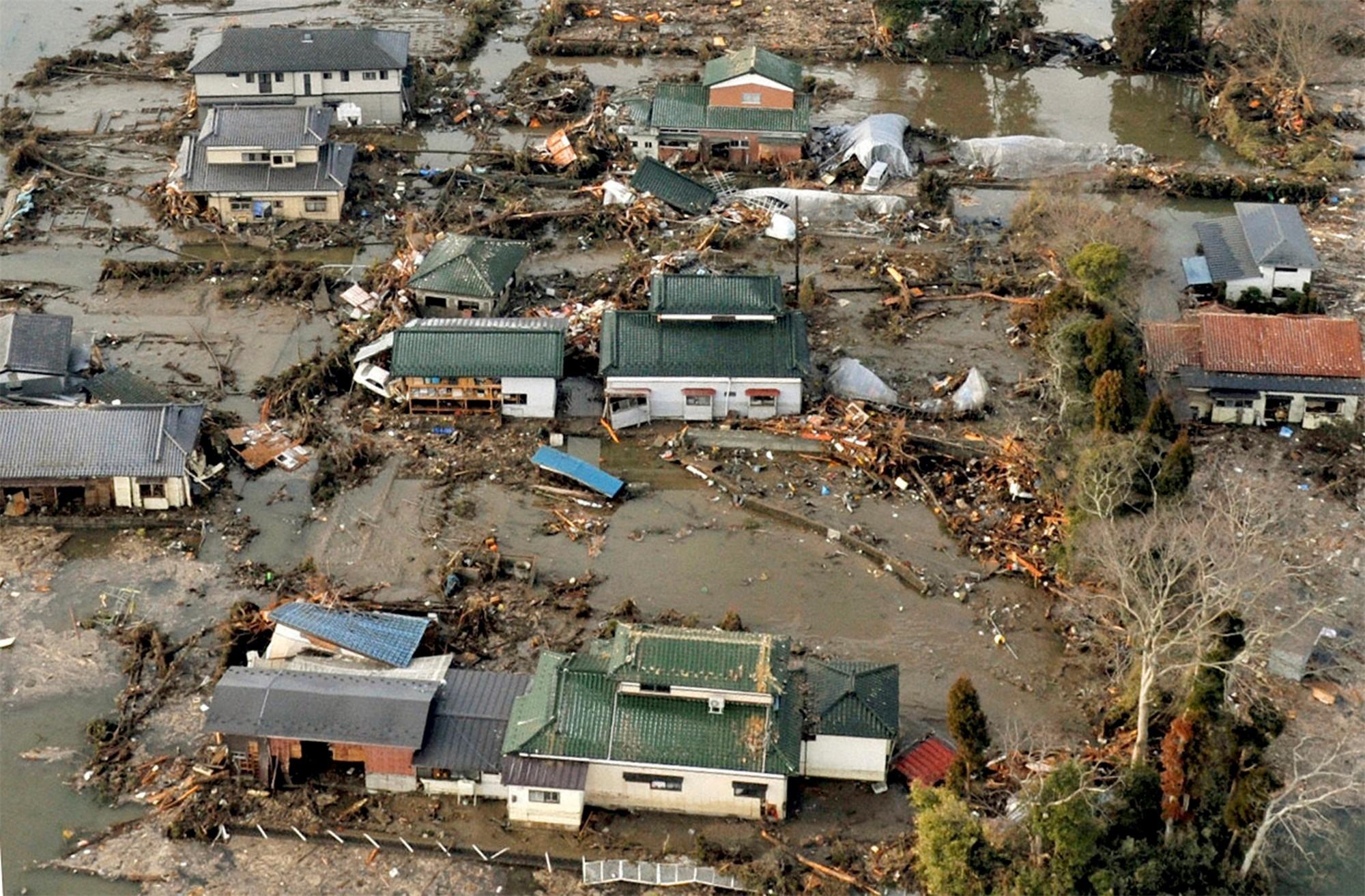 essay tsunami earthquake japan