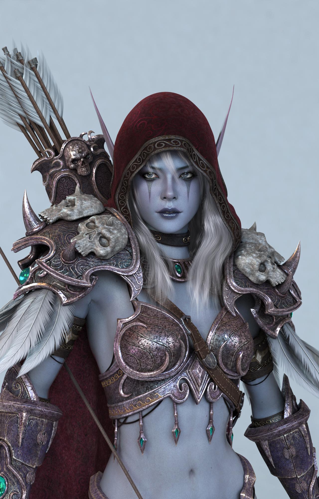Elven girl in tight armor porn nsfw movie