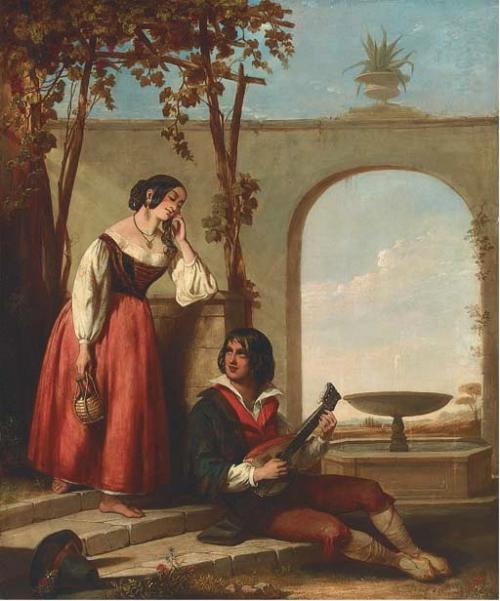 John Bagnold Burgess (1829-1897) (54 работ)