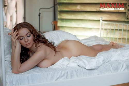 Екатерина Гусева - секси фотосессия для журнала Maxim (HQ) (8 фото)