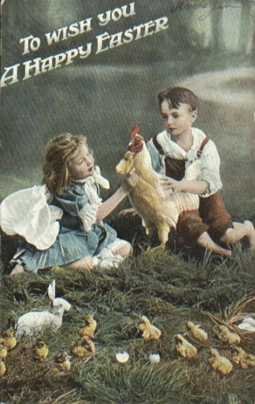 Пасха. Винтажные открытки и изображения (310 картинок)
