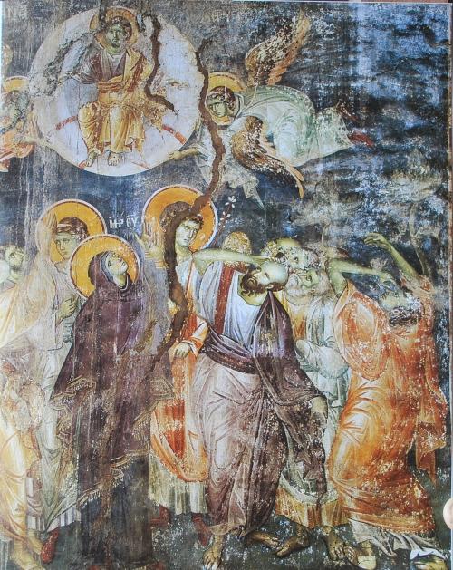 Фрески собора Протата в Карее, Афон XIII в. - Мануила Панселина.Часть 2 (66 фото)