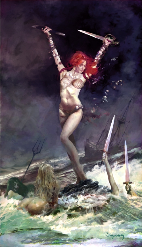 Артур Суидэм | The Fantastic Art Of Arthur Suydam (133 работ)
