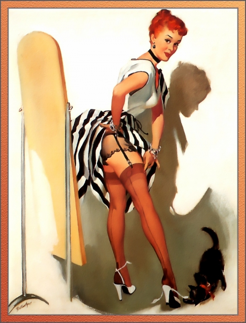 Pin-Up by Joyuse Ballantine (42 работ)