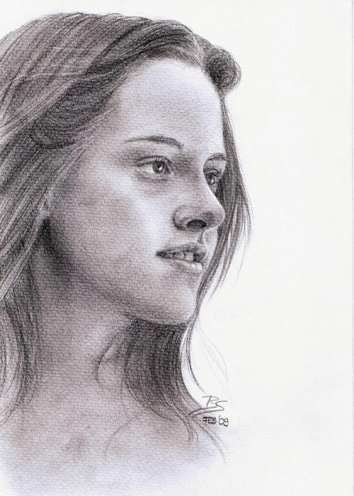 Рисунки карандашом к фильму Сумерки (54 работ)