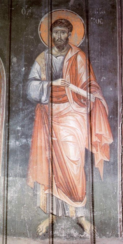 Фрески собора Протата в Карее, Афон XIII в. - Мануила Панселина. Часть 1 (80 фото)