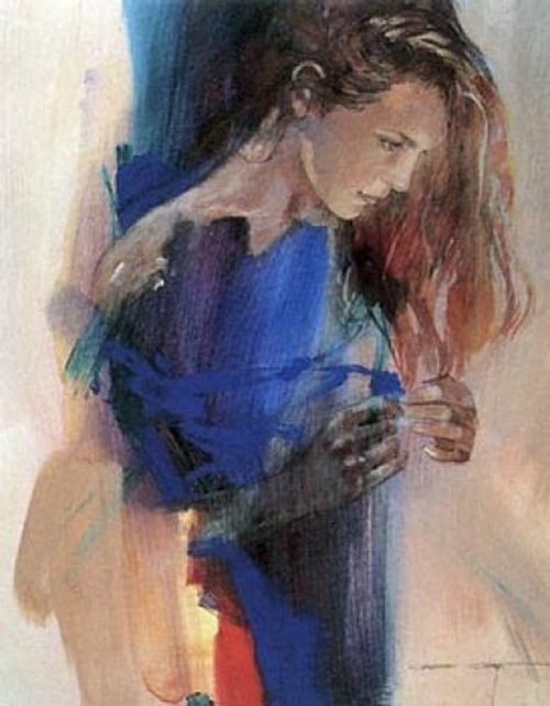 Акварельные девушки Christine Comyn (60 работ)