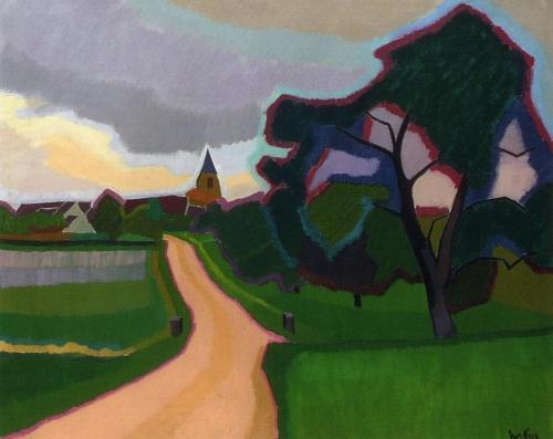 Огюст Эрбен (Auguste Herbin) - французский художник представитель геометрического абстракционизма (14 работ)