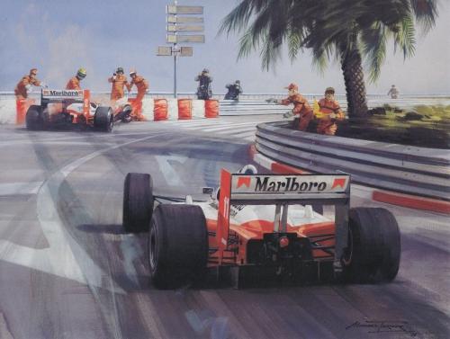 Рисованные фрагменты Формула 1 (91 фото)