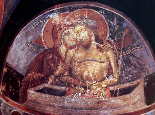 Фрески келии св. Стефана (Афон) (27 картинок)