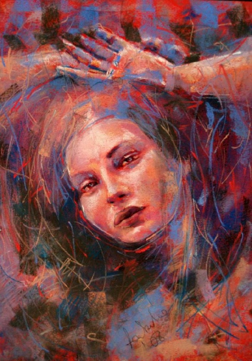 Художник Ewelina Ladzinska - Женственность (16 работ)