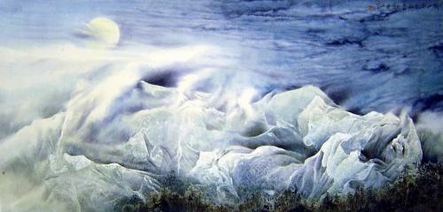 Feng Linzhang | Китайская живопись (26 работ)