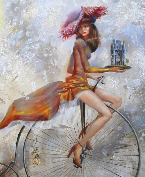 Велосипедные прогулки Олега Чубакова (30 работ)
