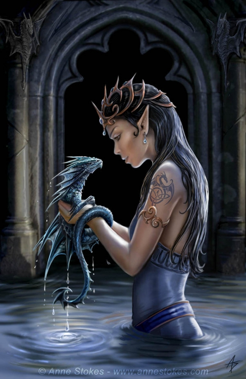 Art by Anne Stokes (Ironshod) (105 работ)