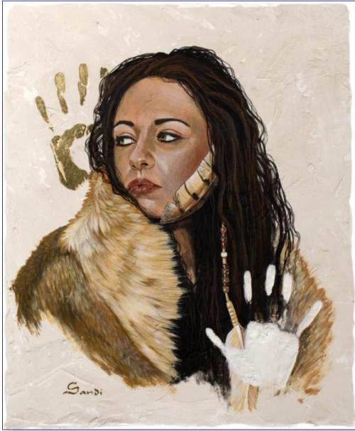 Художница Sandi Baker (61 работ)
