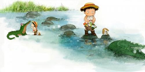 Художник-иллюстратор Kim. Dong-hoon (56 работ)