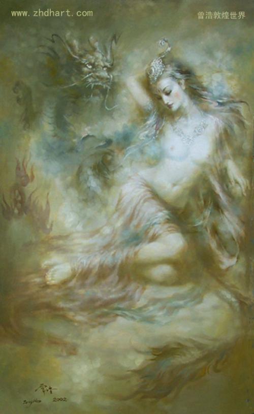 Художник Zeng Xiao Lian (60 работ)