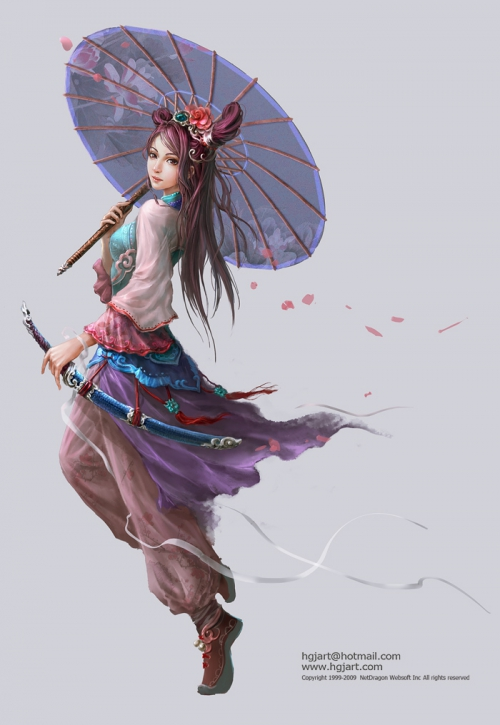 Illustrations Guangjian Huang (78 работ)