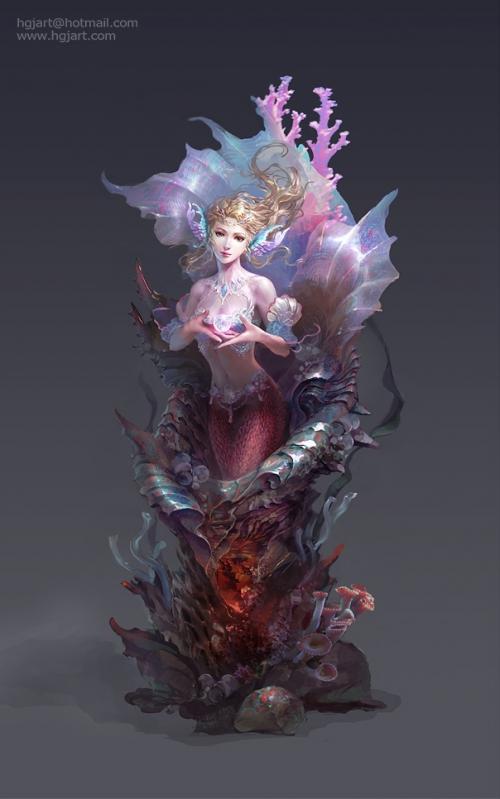 Illustrations Guangjian Huang (78 работ)