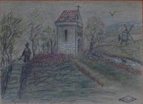 Жорж Леммен (Georges Lemmen) - бельгийский художник-неоимпрессионист (26 работ)