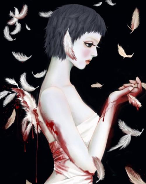 Корейская художница иллюстратор Bona (54 работ)
