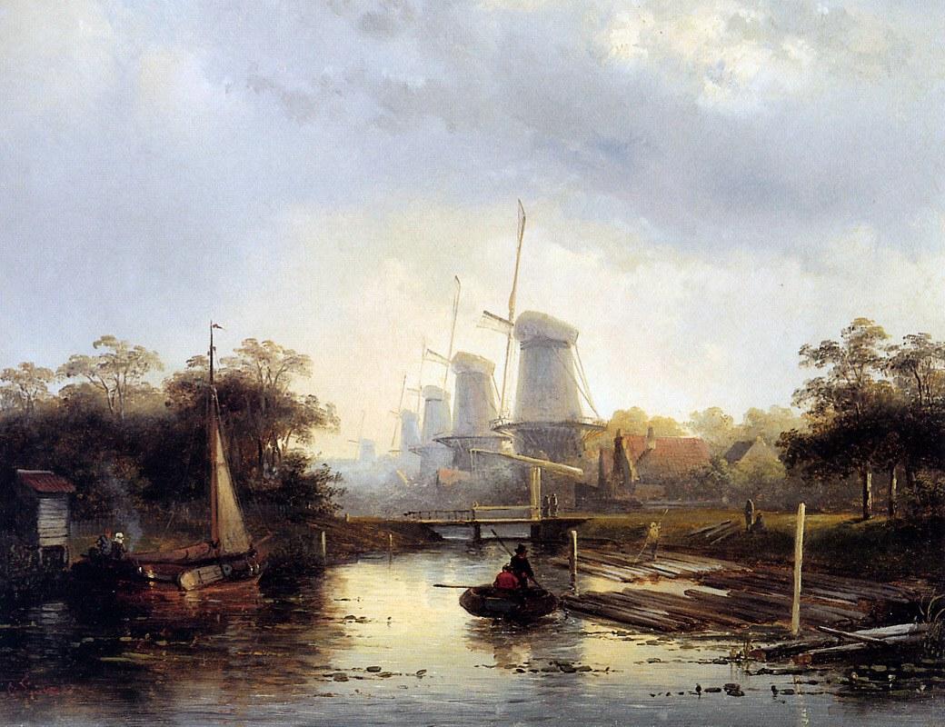 Charles henri joseph leickert belgian 1816 1907