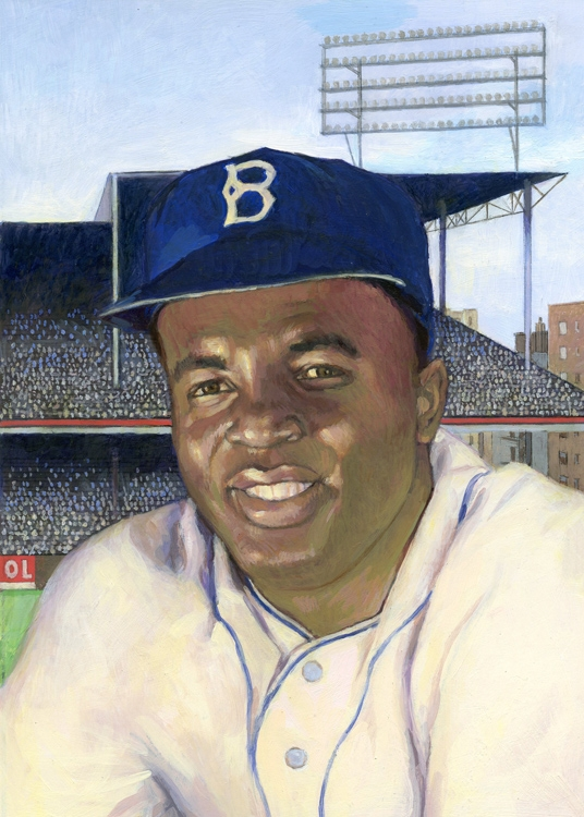 a biography of jackie robinson an american baseball player