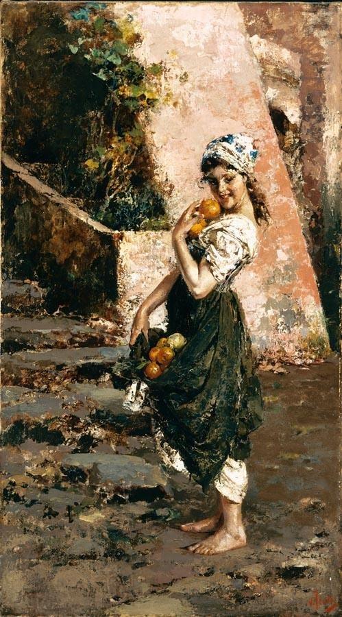 artista italiano Vincenzo Irolli (1860-1942) (148 obras)