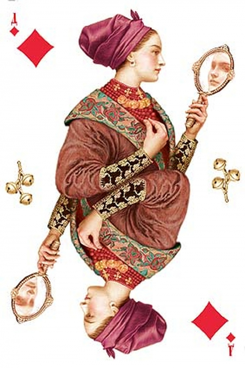 Игральные карты Владислава Эрко (12 работ)