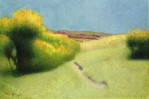 Ашиль Ложе (Achille Lauge) - французский художник постимпрессионист (19 работ)
