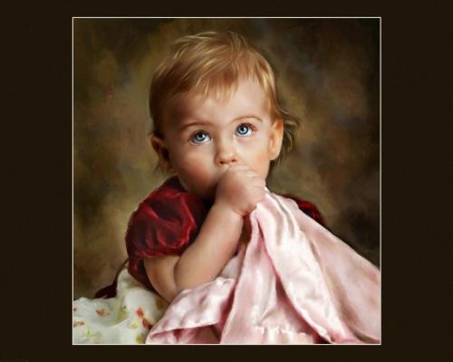Детские портреты Jill Garl (93 работ)