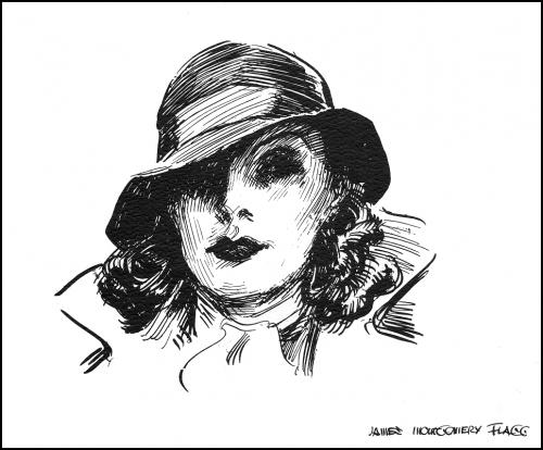 Американский иллюстратор James Montgomery Flagg (1877 –1960) (150 работ)