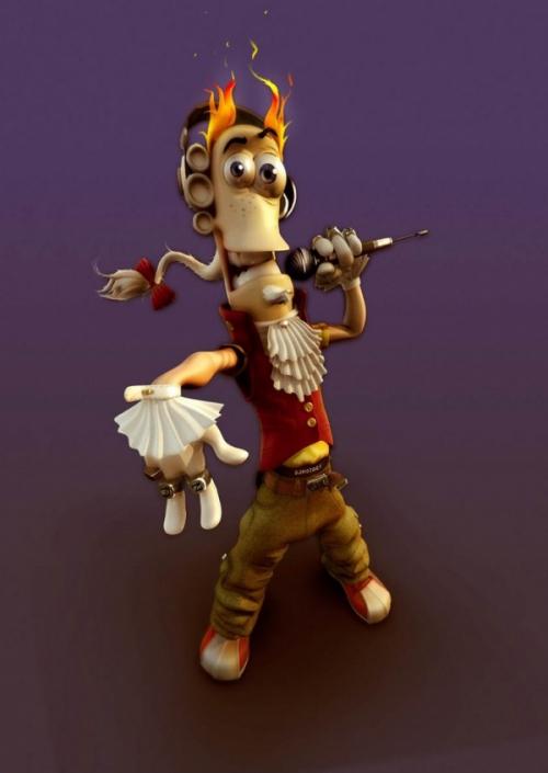 50 Digital Fantastic Characters (50 работ)