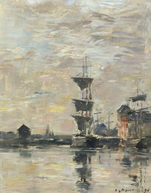 Эжен Буден (Eugene Boudin) - живописец предшественник импрессионизма (56 работ)