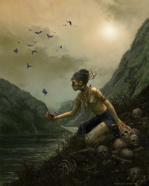 Художница Lauren K. Cannon (51 работ)