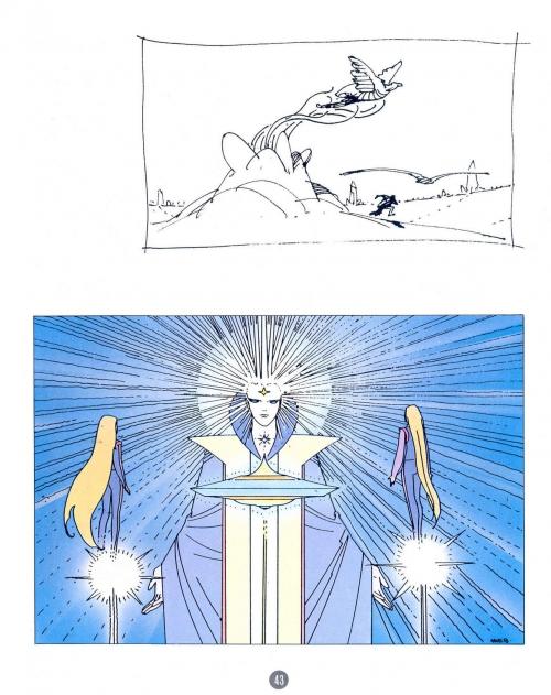 Moebius - Venise Celeste ( Artbook ) (109 работ)