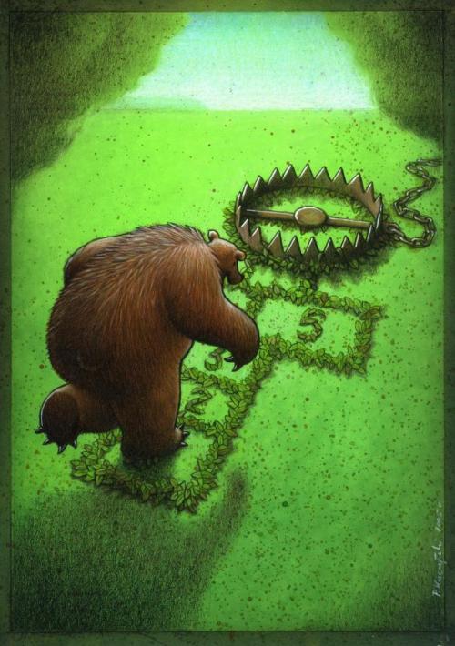 Карикатурист Pawel Kuczynski (51 работ)